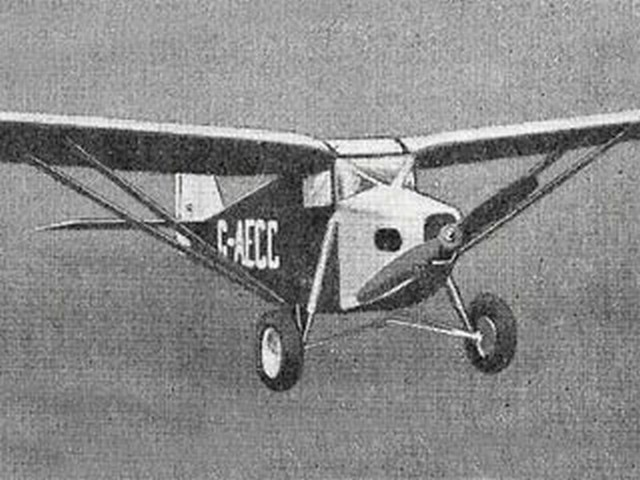ABC Robin (oz954) by F. Saunders from Model Aircraft 1952