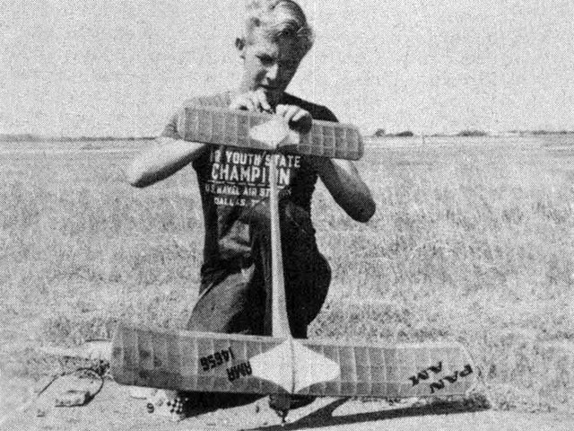 Lil Goliath (oz9570) by Terry Thorkildsen from American Modeler 1961
