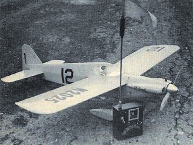 Lil Knarf (oz9576) by Jerry Nelson from Model Airplane News 1965