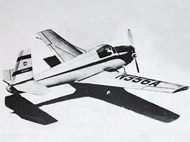 Mooney Mite (oz9592) by Aubrey Kochman from Air Trails 1949