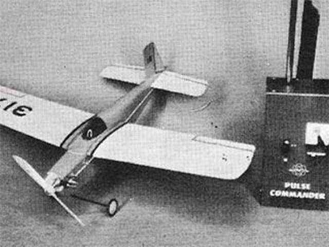 CO2 Bee (oz9609) by Howard McEntee from Model Airplane News 1970