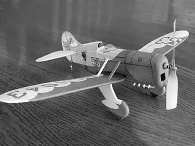 Gee Bee D (oz961) by Rockland F Russo and Michael J Heinrich from Deathtrap Squadron 2001
