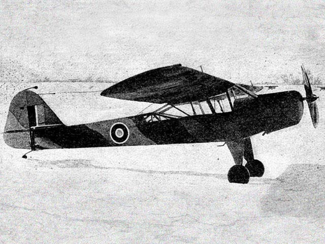 Taylorcraft Auster (oz9613) by Aeromodeller Staff from Aeromodeller 1944