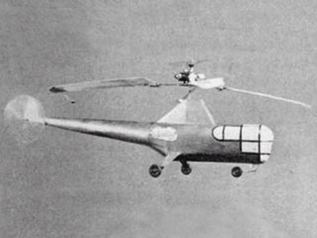 Sikorsky S-51 - completed model photo