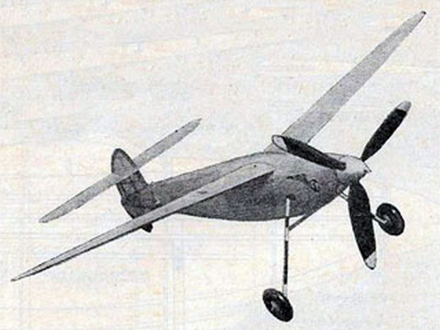 Bittern (oz9628) by FH Patey from Aeromodeller 1947