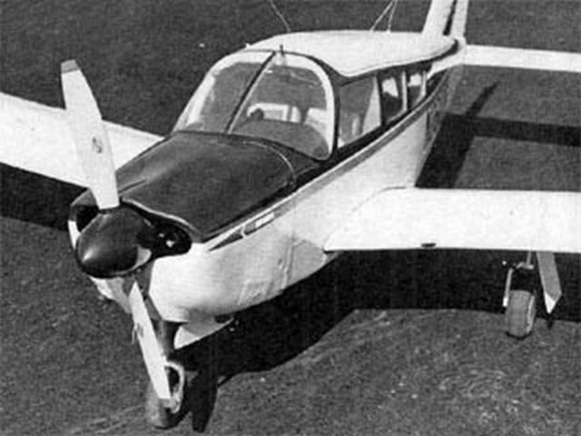 Cherokee Arrow 200 - completed model photo