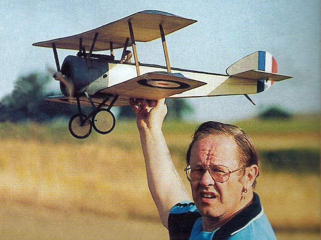 Sopwith Pup (oz9660) by Peter Rake from Flying Scale Models 1999