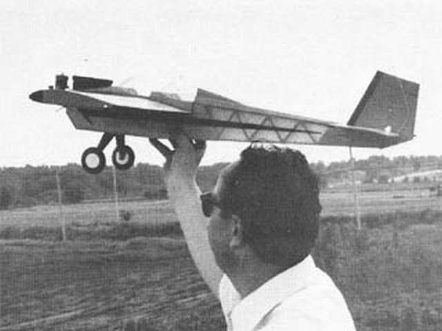 Sneaky Pete (oz9670) by Dean Swift from Model Airplane News 1975