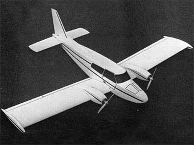Italair F20 Twin Pegasus (oz9676) by Dennis Tapsfield from Radio Modeller 1977