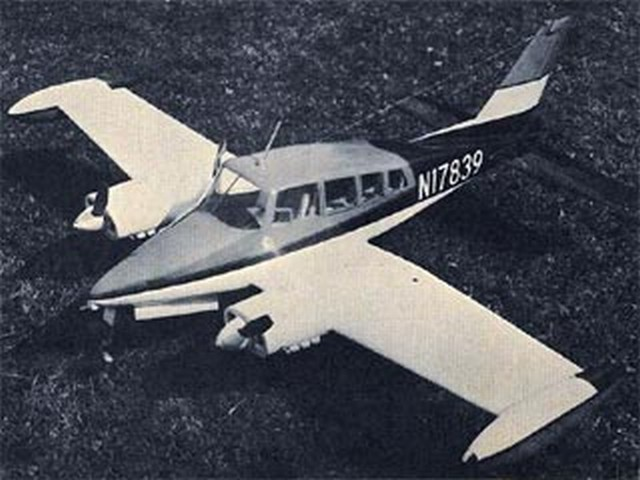 Cessna Skynight 320D (oz9678) by Homer Hudson from Model Airplane News 1965