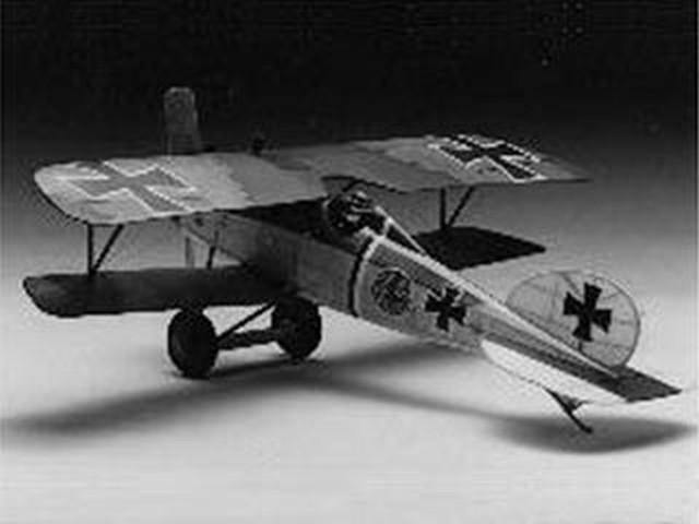 Albatros DVa (oz968) by Stephen Graffeo from Construct-A-plane 1934