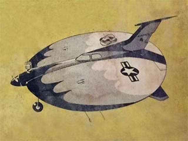 Satellite Saucer (oz9682) by Paul Del Gatto from Jetco 1958