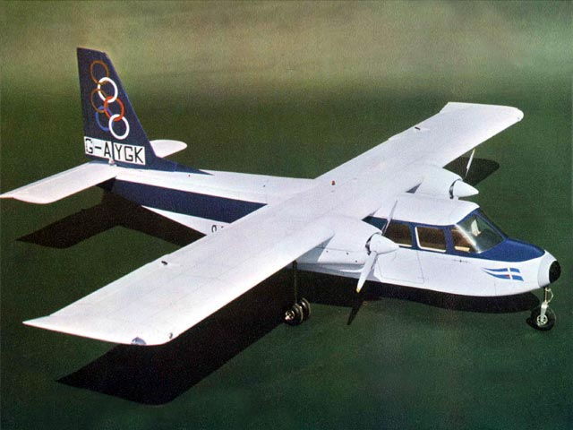 Britten-Norman Islander (oz9714) from Svenson