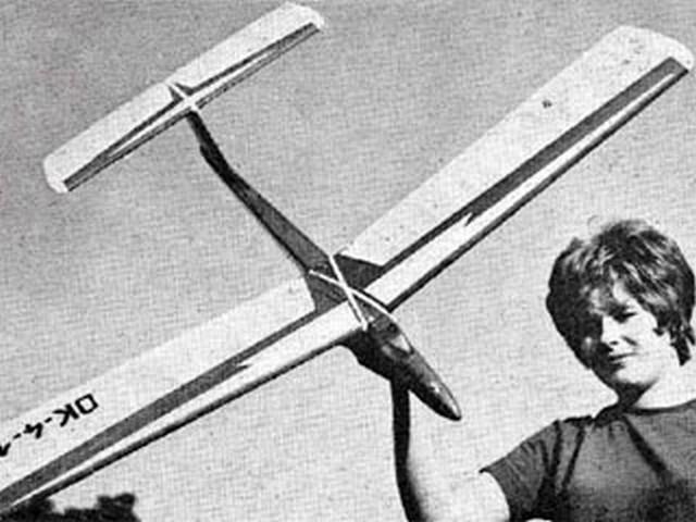 Minx (oz9740) by Radoslav Cizek from Aeromodeller, 1967