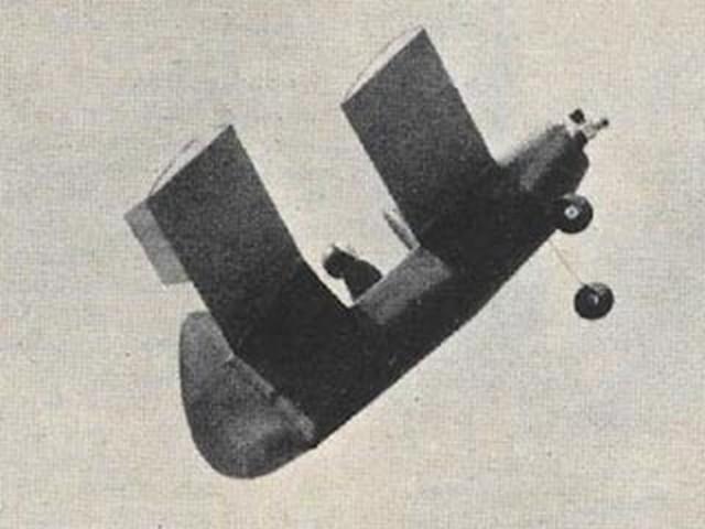 Yankee Flea - completed model photo