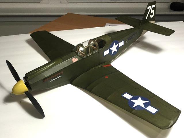 P-51A Mustang - oz976 - Mark Fineman