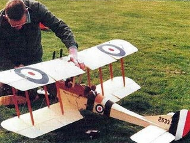 BE2c (oz9760) by David Hurrell from Radio Control Scale Aircraft 2001
