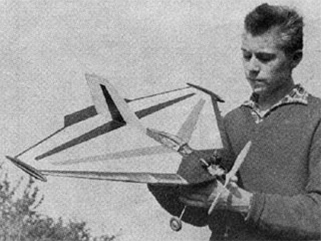 Delta (oz9784) by Jaroslav Fara from Modelar 1963