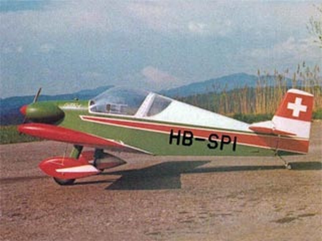 Colibri MB-2 - completed model photo