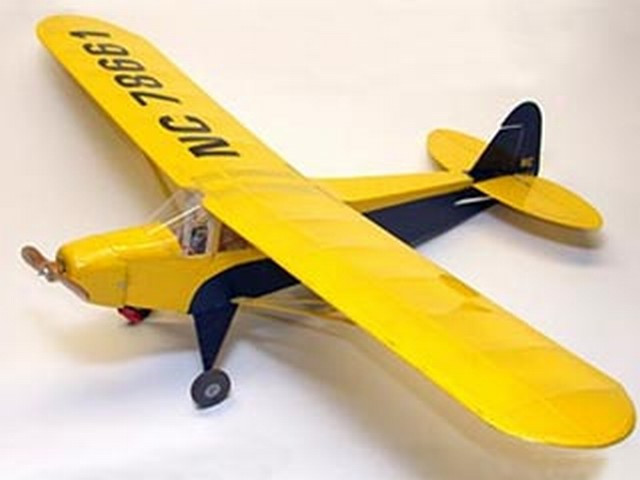 Piper Cub Special PA-11 (oz9787) by Bob Aberle from RC MicroFlight