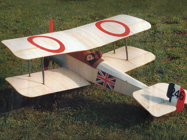 Bristol Scout C (oz9800) by Mike Roach from Flying Scale Models 2004