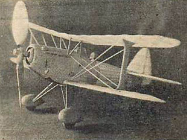 Bleriot 510 (oz9824) by Alan Booton from Air Trails 1938
