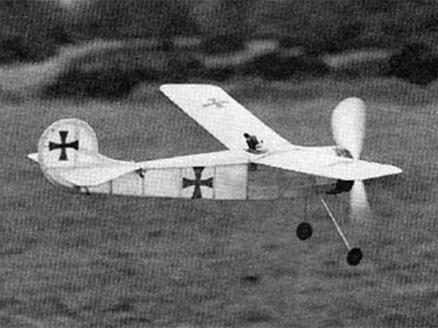 Der Adler - completed model photo