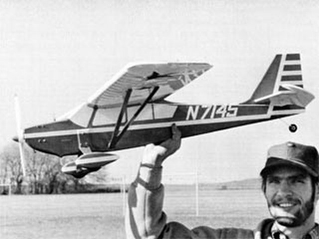 Citabria Profile (oz9830) by Dick Mathis from Flying Models 1973