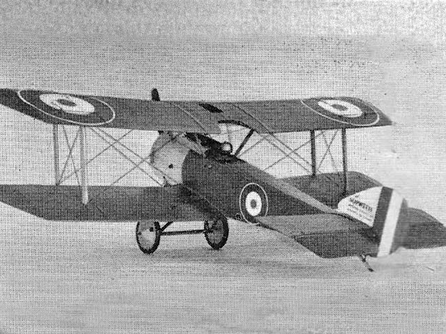 Sopwith Pup - completed model photo