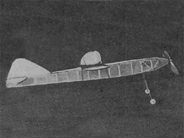 Comet Racer (oz9859) by Dan Orman from Air Trails 1938