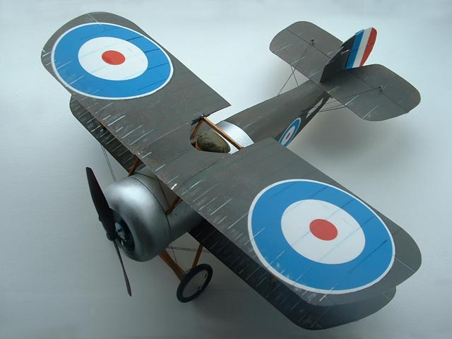 Sopwith Bee - completed model photo
