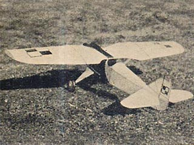 PZL-1 (oz9886) by Howard McEntee from Model Airplane News 1932