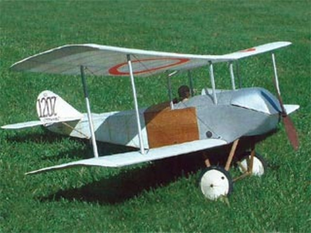 Sopwith Tabloid SS3 (oz9887) by Mike Roach from Flying Scale Models 2005