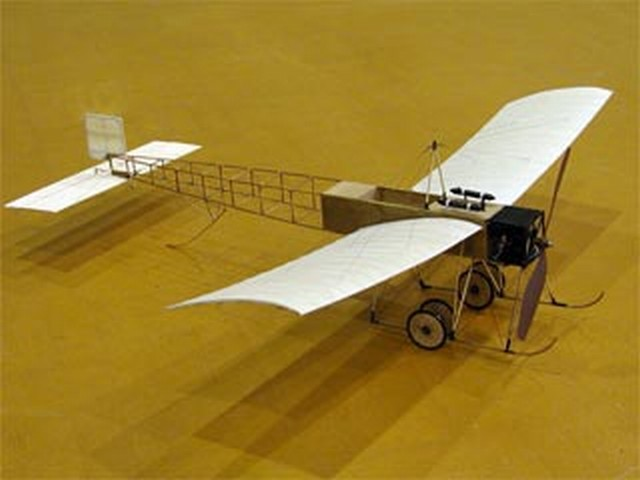 Howard-Wright Monoplane - completed model photo
