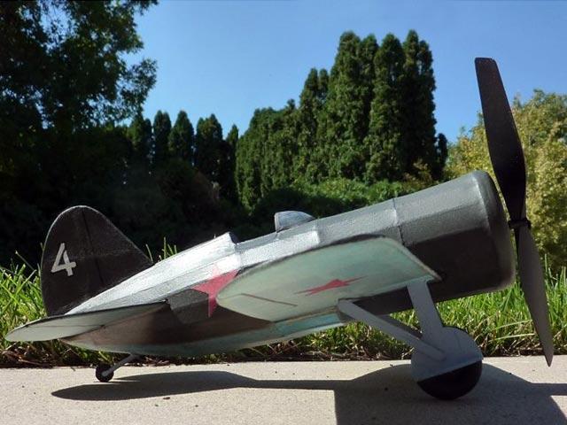 Polikarpov I-16 (oz990) by Rockland F Russo, Michael J Heinrich from Deathtrap Squadron