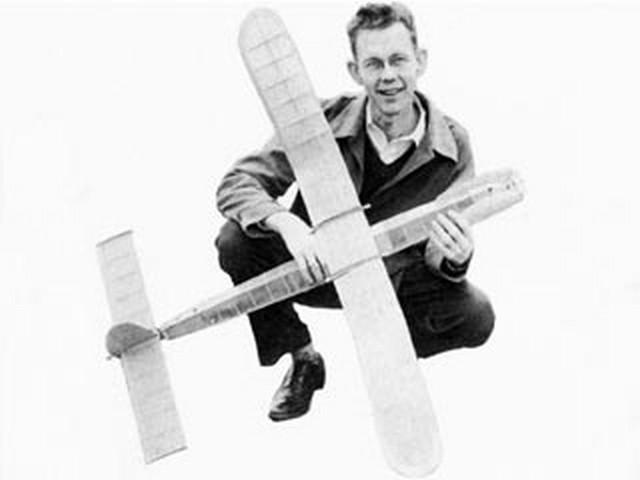 Pogo Stick (oz9921) by Bob Dunham from Model Airplane News 1951