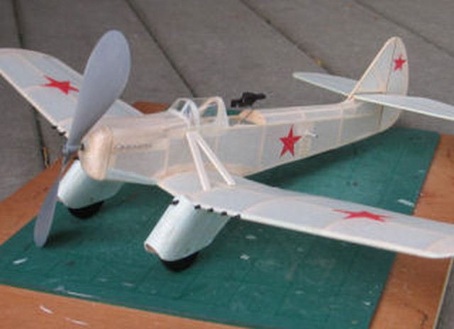 Kocherigin Gurevich TSh-3 (oz993) by Michael J Heinrich from Deathtrap Squadron 2006