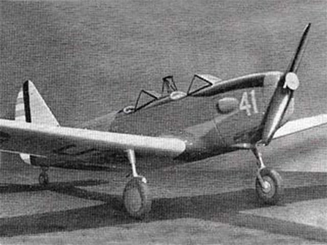 Fairchild PT-19 Cornell - completed model photo