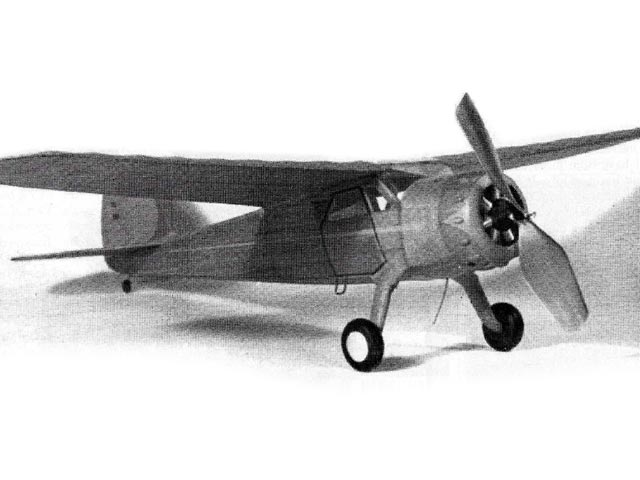 Cessna C-145 Airmaster - completed model photo