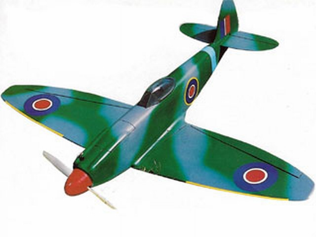 Spitfire Mk22 - completed model photo