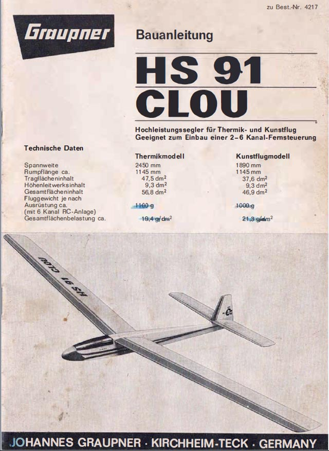 Oz : HS 91 Clou plan - free download