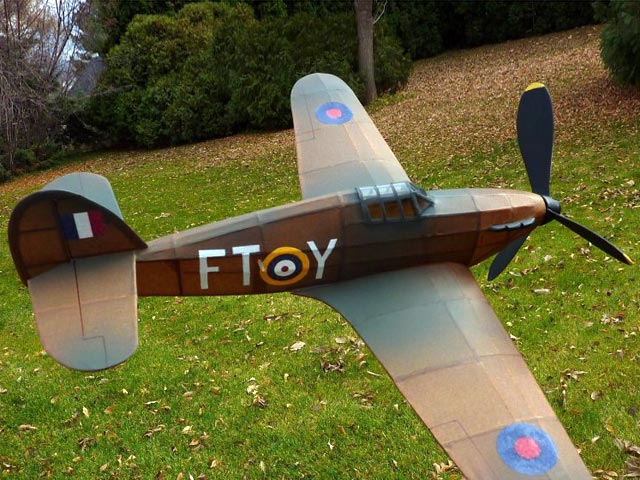 Hawker Hurricane - oz140 - Neal Green