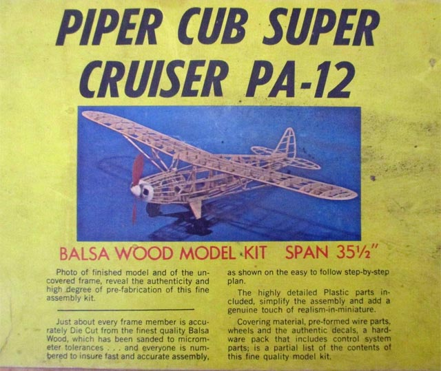 Oz   Piper Super Cruiser Pa-12 Plan