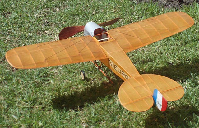 Nieuport Monoplane - oz273 - MarcoAGuillermo