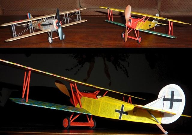 Fokker DVII - oz3098 - Neal Green