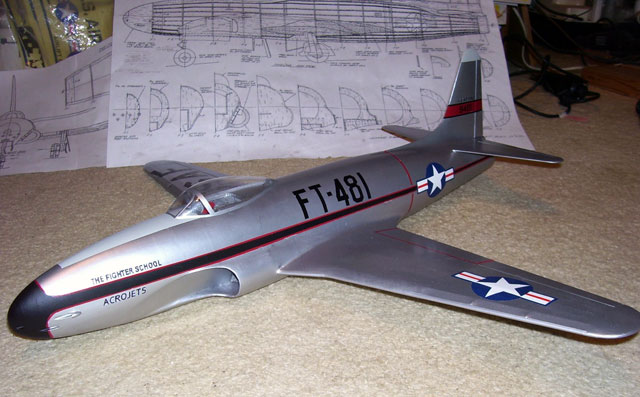 Lockheed P-80A Shooting Star - oz3208 - BillGaylord