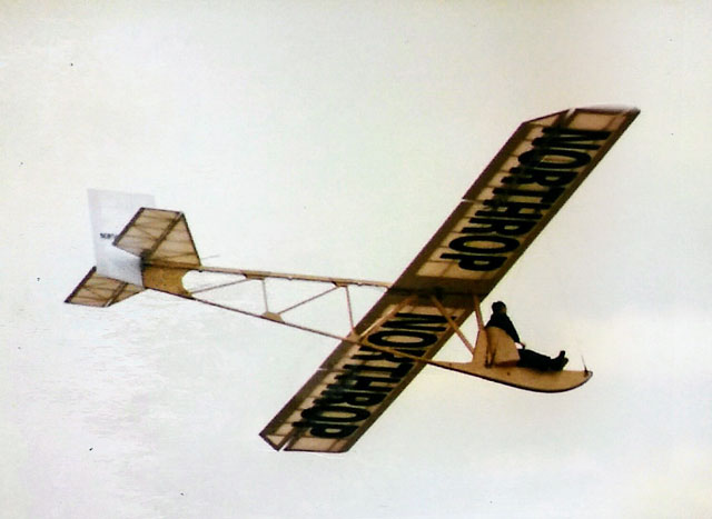 Northrup Primary Glider - oz3842 - JeffBreece