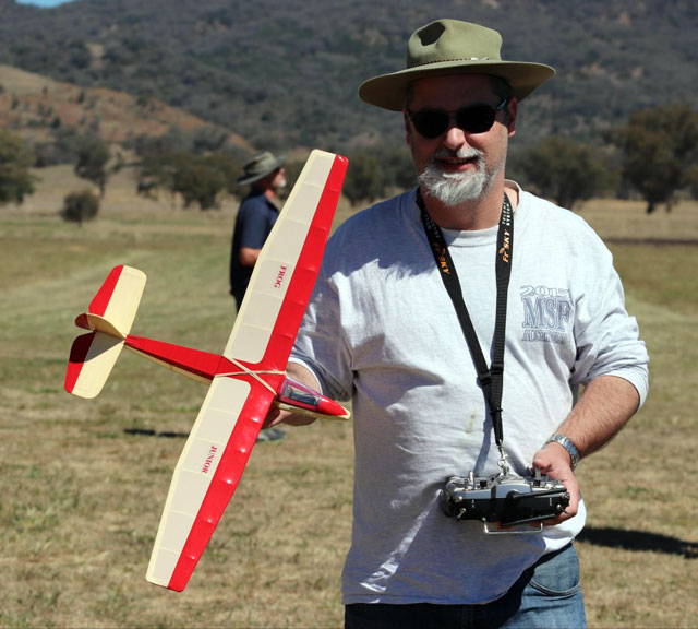 Junior Sailplane - oz3856 - Al