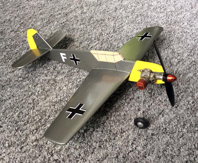 Me 109E - oz4435 - Tony Wright
