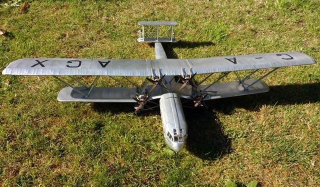Handley Page HP42 Hannibal - oz465 - Martin